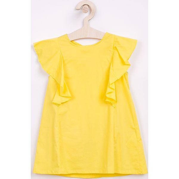 13f97e8af5 Trendyol - Sukienka dziecięca 98-128 cm - Żółte sukienki dziewczęce ...