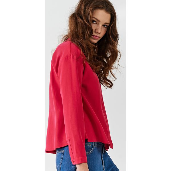 0d46303312 Simple - Koszula - Szare koszule damskie marki Simple