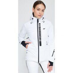 18550ab76 Białe kurtki damskie ze sklepu 4F - Kolekcja lato 2019 - Butik ...