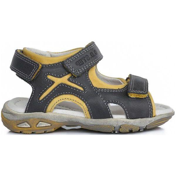 9d572cf9 D-D-Step Sandały Chłopięce 27 Szare - Sandały chłopięce marki D-D ...