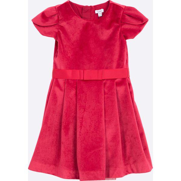 b7d02bdfa5 Blukids - Sukienka dziecięca 98-128 cm - Czerwone sukienki ...