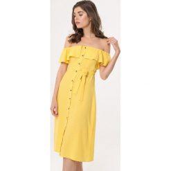f98fa4e883 Sukienka hiszpanka z rękawem - Sukienki damskie - Kolekcja wiosna ...