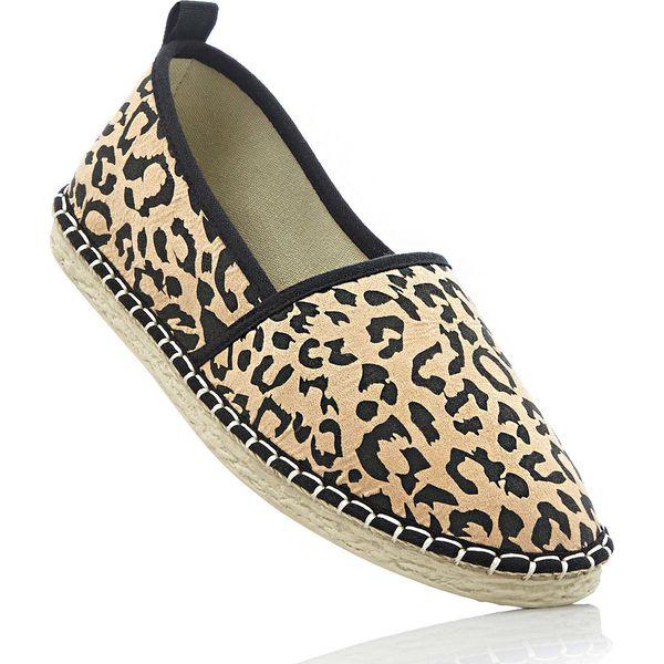 Espadryle bonprix w cętki leoparda - Balerinki damskie marki bonprix ... 8a7bb5a905
