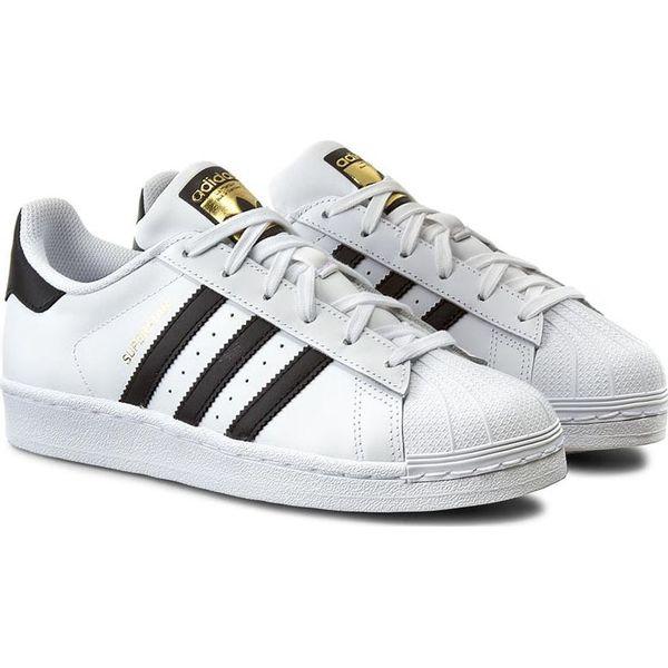 a1ce5849 Adidas Buty damskie Superstar J białe r. 36 2/3 (C77154) - Białe ...