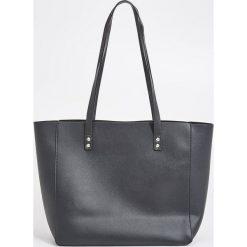 b72d4e2b4b44a Torba shopper - Czarny. Czarne shopper bag marki Sinsay. Za 59.99 zł.