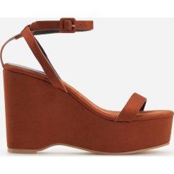 301ffa767b55d Włoskie sandały na koturnie - Sandały damskie - Kolekcja lato 2019 ...