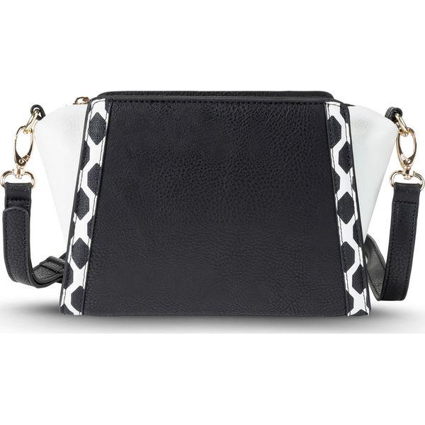 f2ffe945b6cc9 Torebka na ramię bonprix czarno-biały - Czarne torebki klasyczne ...