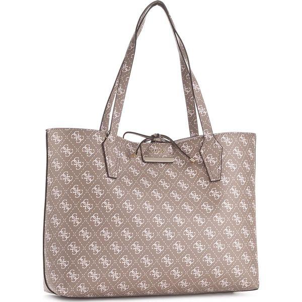 7378553ff2b2a Torebka GUESS - Bobbi HWQL64 22150 MCS - Brązowe shopper bag marki Guess. W  wyprzedaży za 379.00 zł. - Shopper bag - Torebki damskie - Akcesoria  damskie ...