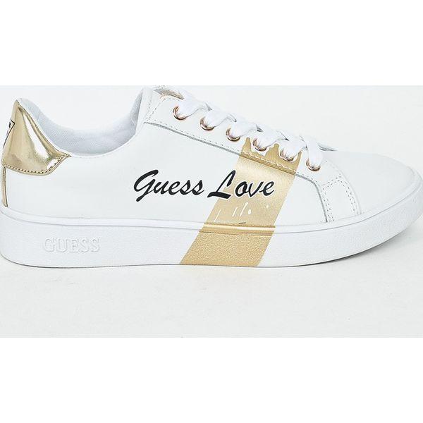 72c33583548c7 Guess Jeans - Tenisówki - Szare obuwie sportowe damskie marki Guess ...