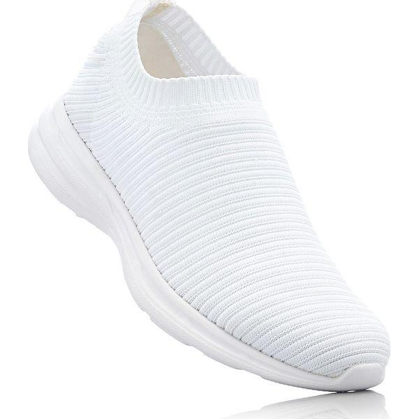 Białe Wsuwane Buty Sportowe   Trampki damskie w 2019   Buty
