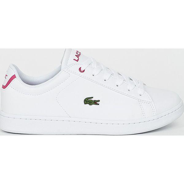 81dea274f7bdb Lacoste - Buty - Szare obuwie sportowe casual damskie marki Lacoste ...