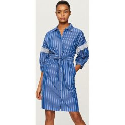 3ff4a3552bf77 Fioletowe sukienki damskie ze sklepu Reserved - Kolekcja wiosna 2019 ...