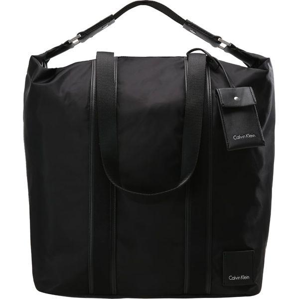 d29b834affc1f Calvin Klein FLUID Torba na zakupy black - Czarne shopper bag marki ...